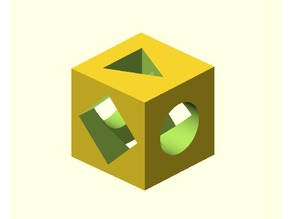 Calibration and quest cube