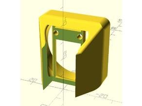 Microswiss CR10S Pro 40mm Fan Shroud