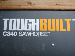 Protective Foot for ToughBuilt C340 SawHorse