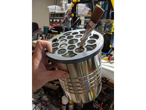 Parametric Lid for Coffee Cans