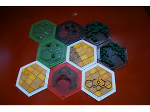 Some More Settlers of Catan Variations