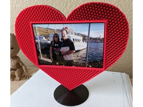 Heart Frame for 4x6 Photo