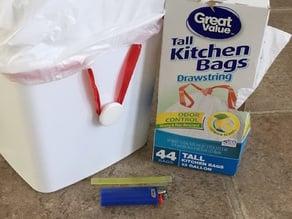 Garbage Bag Holder Knob
