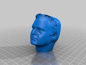 My MakerBot 3D Portrait from Dec 17, 2012