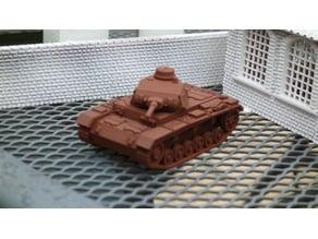 Panzer 3 G sliced 28mm