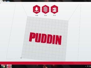 Puddin Letters for Harley Quinn choker