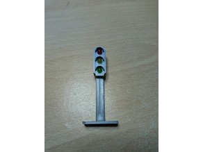 Traffic light for 5mm LED