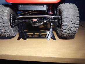 R/C crawler axle stands (Joined)