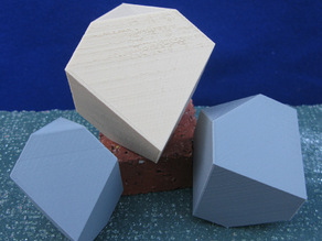 Two version of Durer's polyhedra