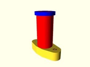 Hypercube Evolution BLTouch Parametric Mount