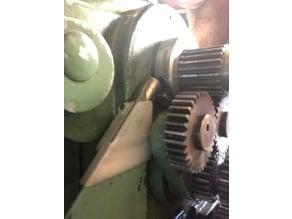 Hercus lathe tachometer sensor mount