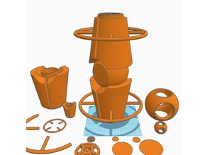 Orange Lantern Battery