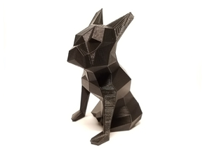Low Poly Boston Terrier