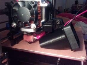 Fan funel mount for MK8 metal holder