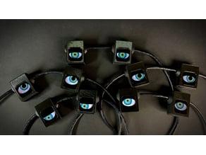 Spooky Arduino Eyes Halloween Decoration
