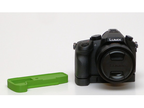 Panasonic Lumix DMC-FZ1000 grip Arca Swiss mount