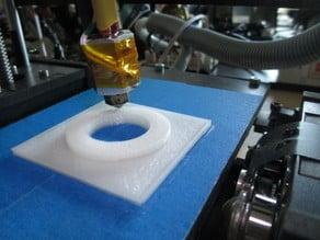 Minimalistic filament spool holder small footprint 4 OneUp / Printrbot etc.