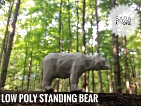 Molly the Low Poly Bear