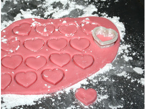 Heart Shaped Candy Cutter with Bonus Recipe