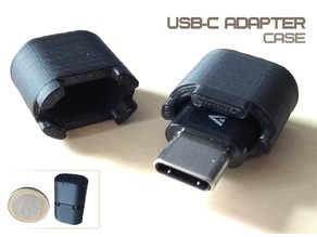 Micro USB to USB-C adapter case
