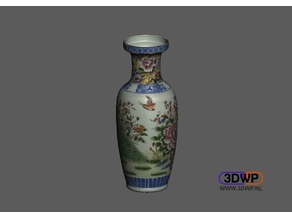 Vase (With Color Model)