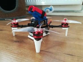 FPV Quadrocopter landing gear