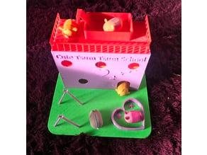 Tsum Tsum Mini School & House Playset (Also fits Disney Ooshies)
