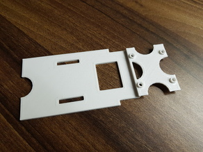 Sonicmodel F1 Wing Baseplate / Bottomplate for FC Stack