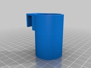 Simple frame glue stick holder