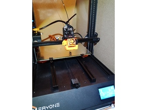 Hero Me E3D V6 Cooling and Titan Direct Drive for the Eryone Thinker printer
