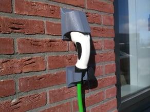 EV charge plug holder