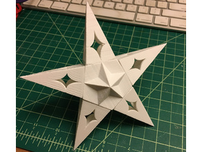 Solstice Star Tree Topper