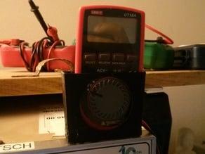 Cheap multimeter holder (model UT10A)