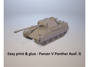 Easy print & glue - Panzer V Panther Ausf.G