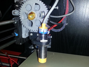 Prusa i3 Rework capazitive/inductive Z-Probe Holder