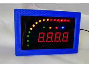 LED Bar Graph Display Panel Bezel