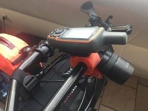 Integrated Garmin & Bike Light Handlebar Mount for Jones Bar & Surly Moloko