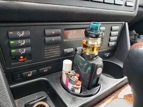 Vape cup holder for e39 BMW