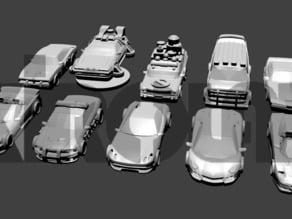 Dice Drivin complete game cars (coches completos para el juego Dice Drivin)