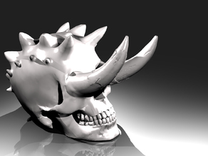 Horned Skull