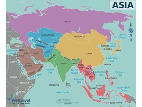 Asia - all countries collection