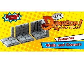 Fantasy Walls and Corners