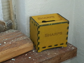 Sharps box