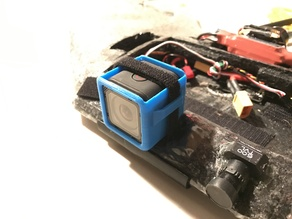 GoPro Session mount for FPV Wing