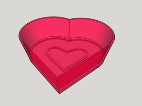 Heart for rings