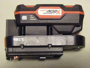 Black and Decker 18v Drill Battery Adapter for LIDL Parkside 20v Batteries