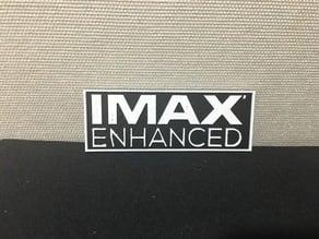 IMAX Enhanced Sign