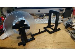 Cube 3 3D Printer Filament Rewinder BIGGER SPOOL