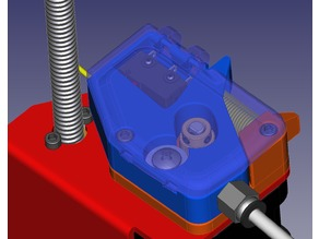 Compact extruder / feeder with alternative runout
