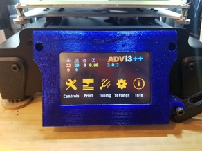 Monoprice Maker Select LCD Cover w/GoPro Mount